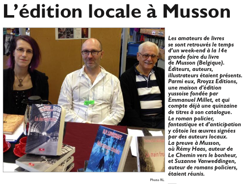 Edition locale a Musson